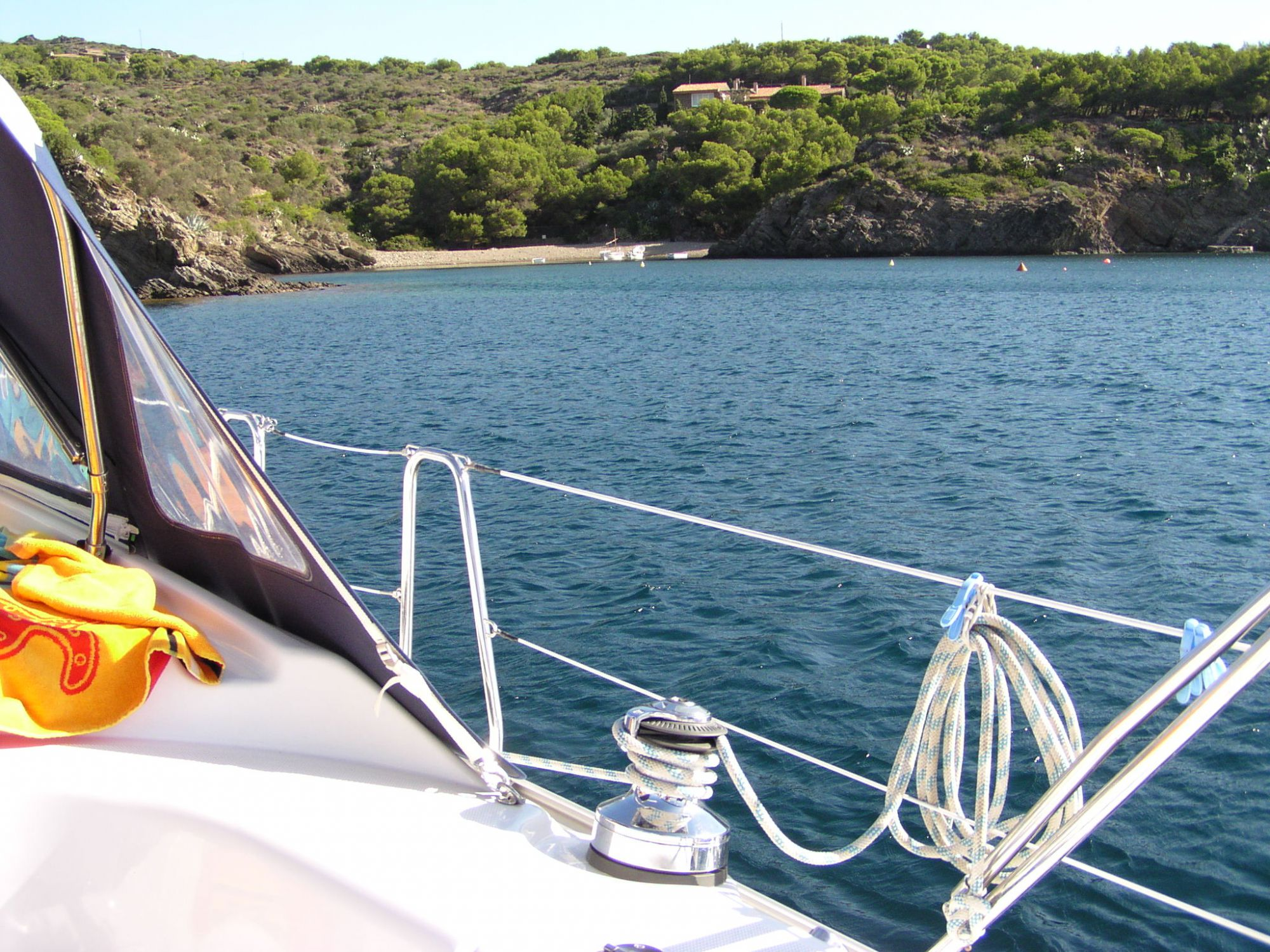 Randonnée en mer avec la Cala