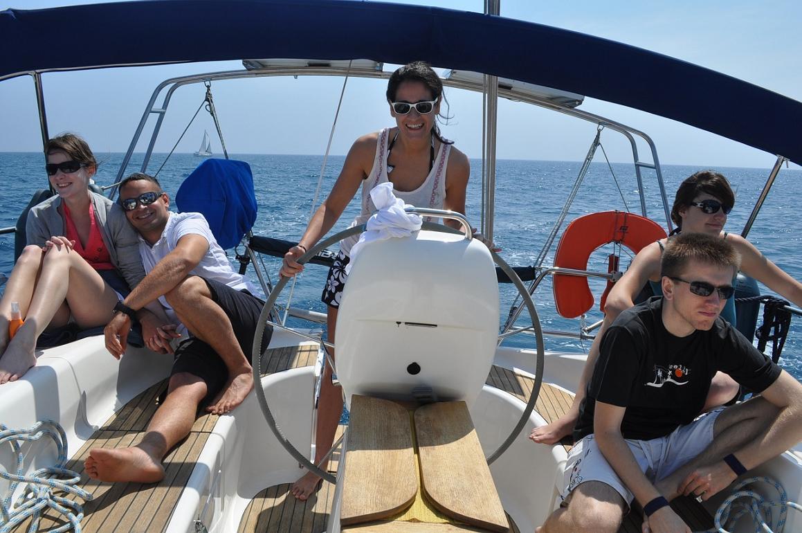 Sortie en mer avec la Cala