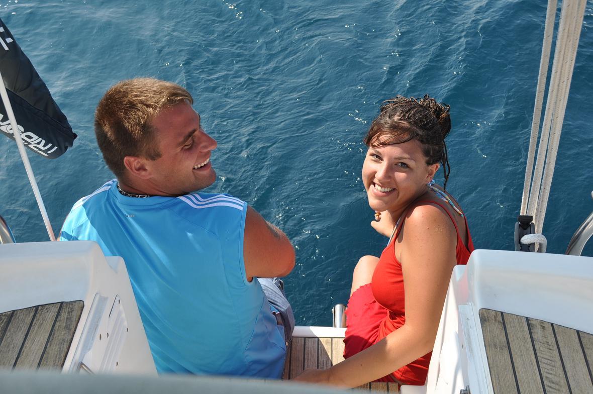 Excursion en mer avec la Cala