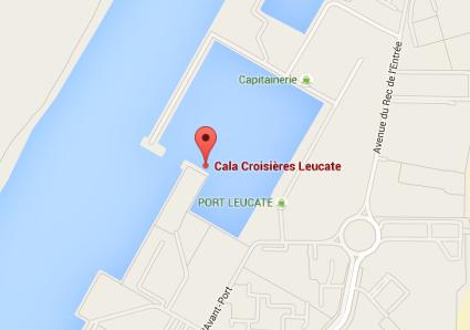 Cala Croisières Localisation Google Maps