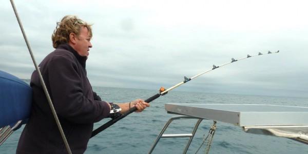 Pêche à bord du voilier Cala